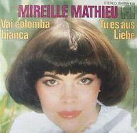 Cover Mireille Mathieu - Vai colomba bianca