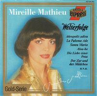 Cover Mireille Mathieu - Welterfolge