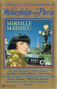 Cover Mireille Mathieu - Welterfolge aus Paris