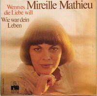 Cover Mireille Mathieu - Wenn es die Liebe will