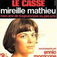 Cover Mireille Mathieu & Ennio Morricone - Mon ami de toujours