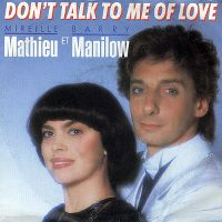Cover Mireille Mathieu et Barry Manilow - Don't Talk To Me Of Love