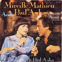 Cover Mireille Mathieu & Paul Anka - Andy