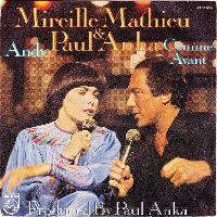 Cover Mireille Mathieu & Paul Anka - Andy