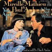 Cover Mireille Mathieu & Paul Anka - You And I