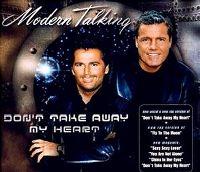 Cover Modern Talking - Don't Take Away My Heart