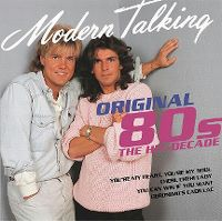 Cover Modern Talking - Original 80s The Hit-Decade