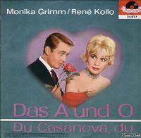 Cover Monika Grimm / René Kollo - Das A und O