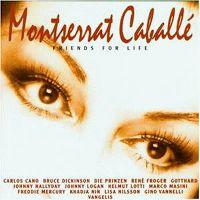 Cover Montserrat Caballé - Friends For Life