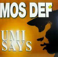 Cover Mos Def - Umi Says