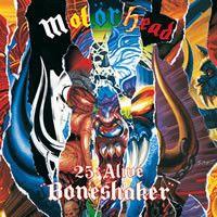 Cover Motörhead - 25 & Alive - Boneshaker