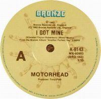Cover Motörhead - I Got Mine