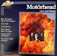 Cover Motörhead - Live And Studio