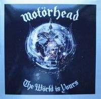 Cover Motörhead - The Wörld Is Yours