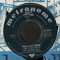 Cover Mr. Acker Bilk's Paramount Jazzband - That's My Home