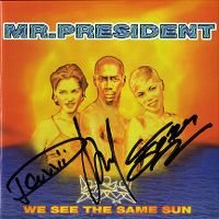 Cover Mr. President - We See The Same Sun