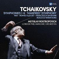 Cover Mstislav Rostropovich / London Philharmonic Orchestra - Tchaikovsky: Symphonies 1-6 - 'Manfred' Symphony