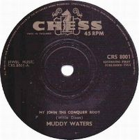 Cover Muddy Waters - My John, The Conqueror Root