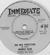 Cover Murray Head - She Was Perfection