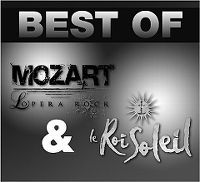 Cover Musical - Double Best Of - Mozart L'Opéra Rock / Le Roil Soleil