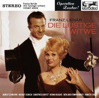 Cover Musical - Franz Lehár: Die lustige Witwe