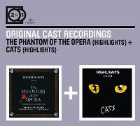 Cover Musical / Andrew Lloyd Webber - The Phantom Of The Opera (Highlights) + Cats (Highlights)