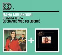 Cover Nana Mouskouri - 2 For 1: Olympia 1967 + Je chante avec toi liberté