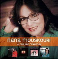 Cover Nana Mouskouri - 4 albums originaux