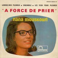 Cover Nana Mouskouri - À force de prier