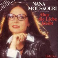 Cover Nana Mouskouri - Aber die Liebe bleibt