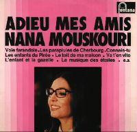 Cover Nana Mouskouri - Adieu mes amis