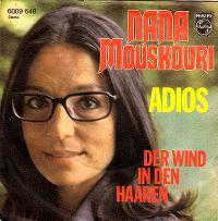 Cover Nana Mouskouri - Adios