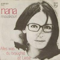 Cover Nana Mouskouri - Alles was du brauchst ist Liebe