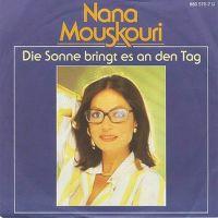 Cover Nana Mouskouri - Die Sonne bringt es an den Tag
