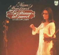 Cover Nana Mouskouri - Die Stimme in Concert