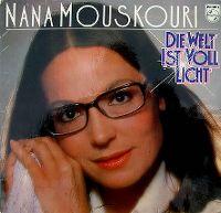 Cover Nana Mouskouri - Die Welt ist voll Licht