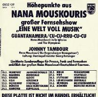 Cover Nana Mouskouri - Guantanamera