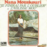 Cover Nana Mouskouri - Je finirai par l'oublier