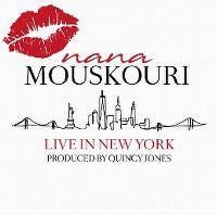 Cover Nana Mouskouri - Live In New York