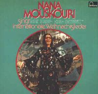 Cover Nana Mouskouri - Nana Mouskouri singt internationale Weihnachtslieder