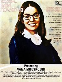 Cover Nana Mouskouri - Presenting... Songs From Her TV Series