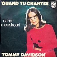 Cover Nana Mouskouri - Quand tu chantes