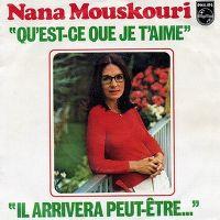 Cover Nana Mouskouri - Qu'est-ce que je t'aime