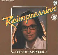 Cover Nana Mouskouri - Reimpression