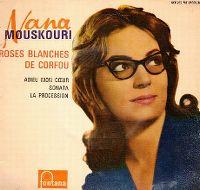 Cover Nana Mouskouri - Roses blanches de Corfou
