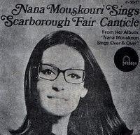 Cover Nana Mouskouri - Scarborough Fair / Canticle