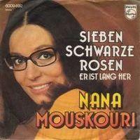 Cover Nana Mouskouri - Sieben schwarze Rosen