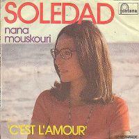 Cover Nana Mouskouri - Soledad