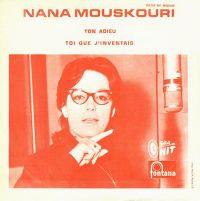 Cover Nana Mouskouri - Ton adieu