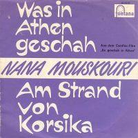 Cover Nana Mouskouri - Was in Athen geschah